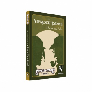 Spiele-Comic Krimi - Sherlock Holmes - In Sachen Irene Adler (Hardcover)
