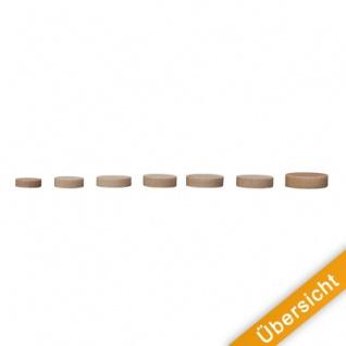 Spielsteine - rund - Holz - natur - 23 x 6 mm - Vorschau 4