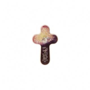 Kreuz -Engel mit Geige- klein