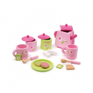 Teeservice - rosa