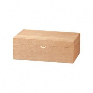 Schachfigurenbox - Buche - 225x142x83 mm