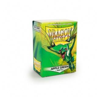 Dragon Shield Matte - Apfelgrün - 100 Stück