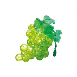 Crystal Puzzle - Traube - grün