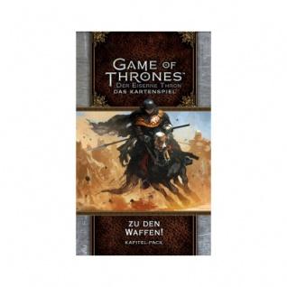 GoT Kartenspiel - Der Eiserne Thron 2. Edition D - Zu den Waffen! - Kd5K 2
