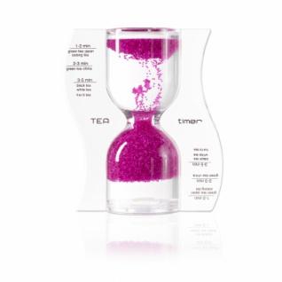 Sanduhr TEA timer - rosa - 5 Minuten