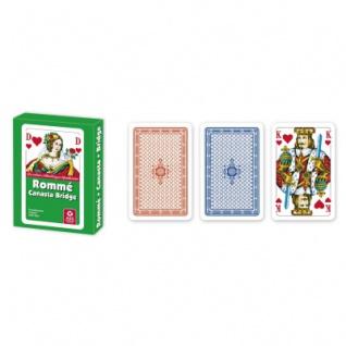Romme - Kartenspiel - Stülpschachtel