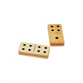 Riesen großes Domino - 28 Steine aus Buche - 9x4, 5cm