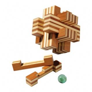 Cross Road Puzzle - 12 Puzzleteile - Denkspiel - Knobelspiel - Geduldspiel
