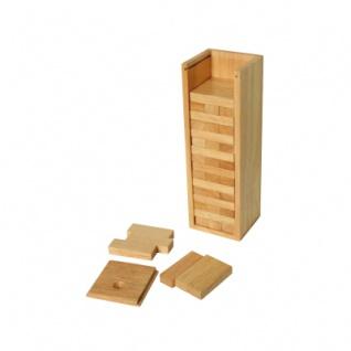 Stapelturm mit Holzbox - Höhe 235 mm