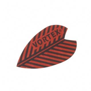 3 x Fly Vortex X 1 - rot - Aluminium-Beschichtung