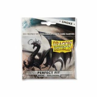 Dragon Shield - Perfect Fit Sideloaders - Klar/Rauch (100 Stück)