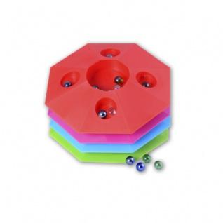 Murmelspiel 22 cm - 8-eck - farbig sortiert