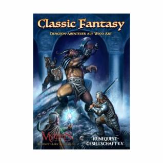 Mythras - Classic Fantasy - Dungeon-Abenteuer auf W100-Art