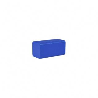 Bauklotz - Rechteck - 50x26x26 mm - blau