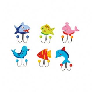 Garderobenhaken - Meerestiere