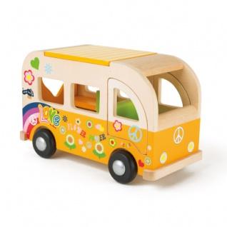 Spielbus Hippie aus Holz