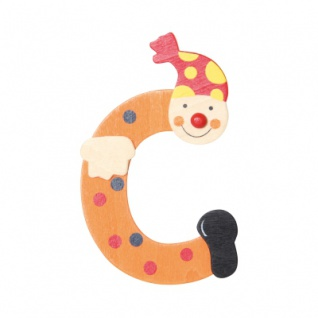 Buchstabe Clown C