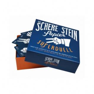 Das Schere- - Stein- - Papier-Superduell