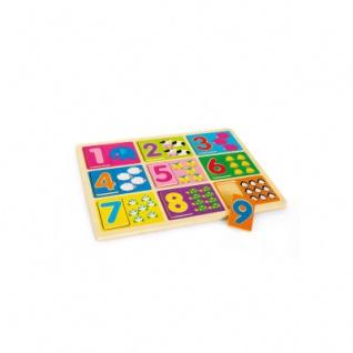 Setzpuzzle Zahlen lernen