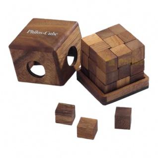 Philos-Cube - Denkspiel - Knobelspiel - Geduldspiel