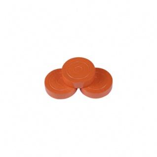 Mühlestein - Dame - Backgammonstein - 25x7mm - orange