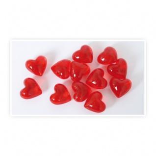 Glas-Herzen kristallklar - 12-tlg.
