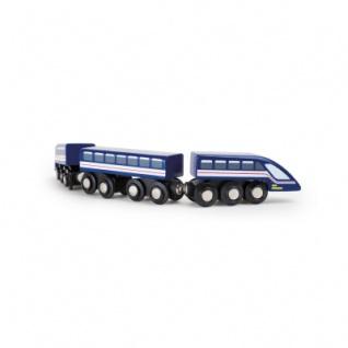 Hochgeschwindigkeitszug - Blauer Blitz TRAINible - Vorschau 3
