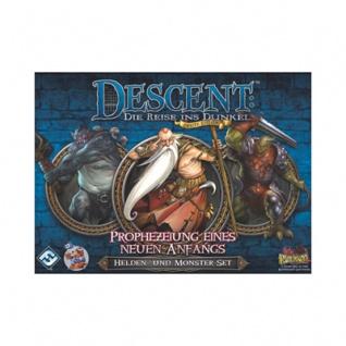 Descent 2. Edition - Prophezeiung eines neuen Anfangs - Helden- und Monster-Set