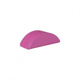 Baustein - Halbmond - 55x26x18 mm - rosa