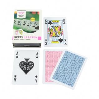 Spielkarten Plastik 54 Blatt