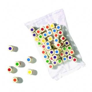 Farbwürfel - 16 mm - 50 Stück