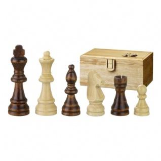 Schachfiguren - Remus - Holz - Staunton - Königshöhe 70mm