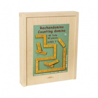 Rechendomino 1 - Lernspiel - Addition und Subtraktion - 40 Teile