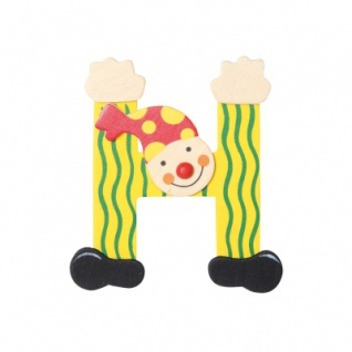 Buchstabe Clown H