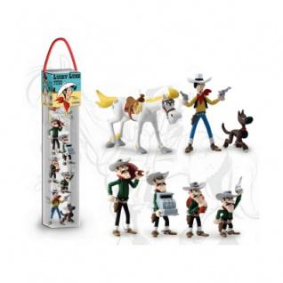 Lucky Luke - Tube Lucky Luke (7 Figuren)