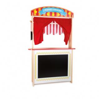 Verkaufsstand und Kasperletheater