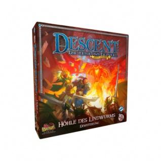 Descent 2. Edition - Die Höhle des Lindwurms Erweiterung