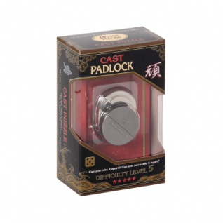 Cast Puzzle Padlock - Level 5