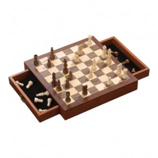 Schachspiel - Schachkassette - standard - Breite ca. 31 cm