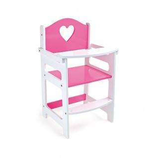 Puppenhochstuhl - pink