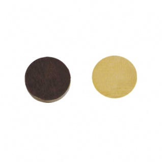 BG-Spielsteine - medium - Erle - 30 x 8 mm - braun und natur