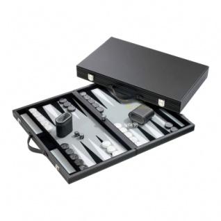 Backgammon - Koffer - Manus - Kunstleder - standard