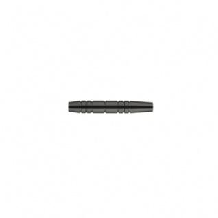 Barrel für Softdarts - schwarz eloxiert - 16g - 52mm - 3 Stück
