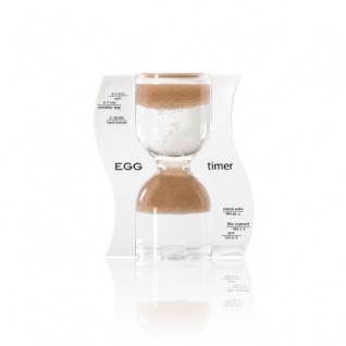 Sanduhr EGG timer - Eieruhr - braun - 10 Minuten