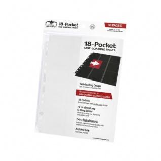 18-Pocket Side-Loading Supreme Pages Weiß - 10
