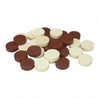Backgammon-Spielsteine - Ersatz- oder Austauschset - 23 mm