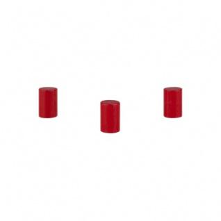 Zylinder - Walze Dia - 10x15mm - rot