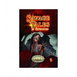 Savage Tales of Horror Vol 1
