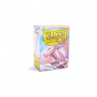 Dragon Shield Matte - Weiß - 100 Stück