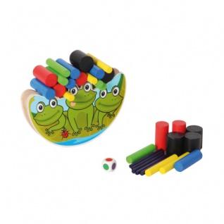 Balancierspiel Frosch